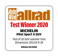 Pilot Sport 4 SUV - AUTO BILD allrad Summer 2020