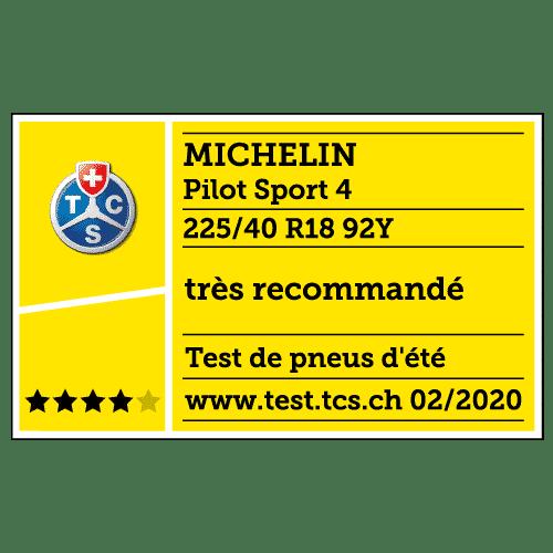 2020 michelin pilot sport 4 tcs fr tyreflag