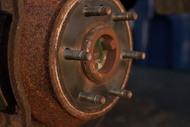ржавые тормозные диски