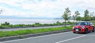 miniで琵琶湖を走る