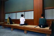 永平寺の座禅体験 2