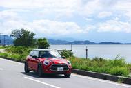 琵琶湖をminiでドライブ
