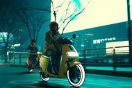 campagne de marque scooter