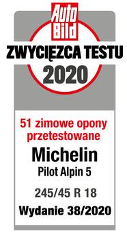 Michelin Pilot Alpin 5 AutoBild 2020 - zwycięzca testu
