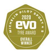 evo tyre test winner
