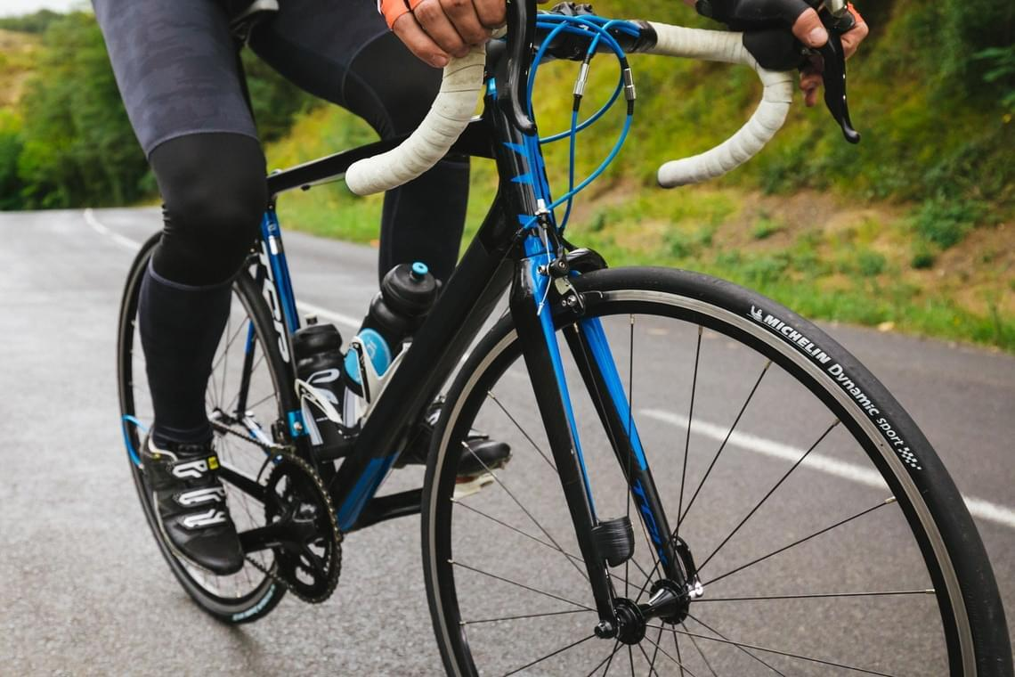 Copertone singolo bici corsa MICHELIN Dynamic Sport 700x25
